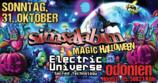 SIMSALABIM / Magic Haloween Gathering / Electric Universe Live 31 Oct '21, 21:00